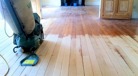 Dust Free Floor Sanding & Repair in Cardiff
